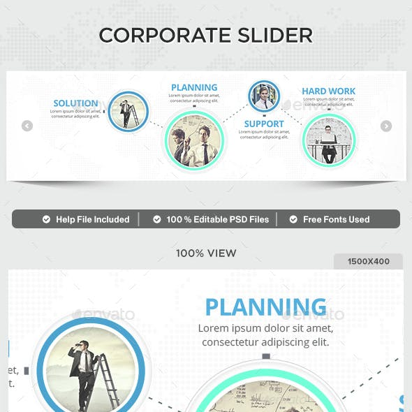 Corporate Slider
