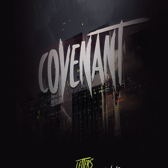 Covenant - Brush Font