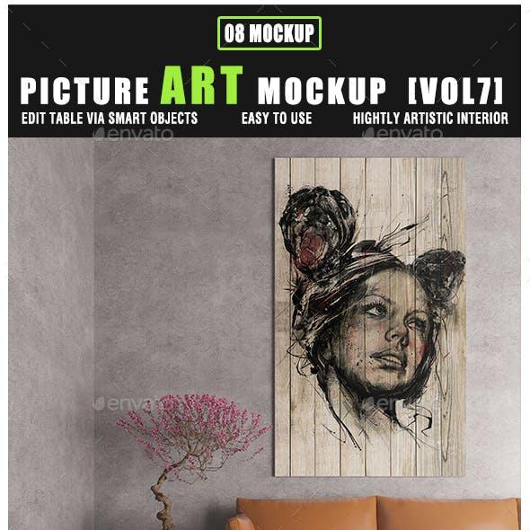 Picture Art Mockup [Vol 7]