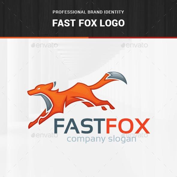 Fast Fox Logo Template