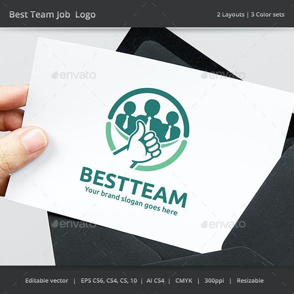 Best Team Job Logo