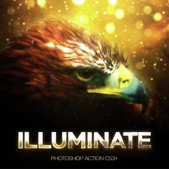 Illuminate Photoshop Action