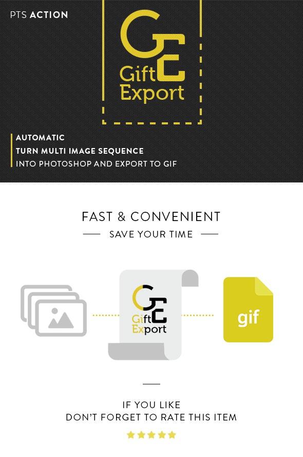 Gift Export - Utilities Actions