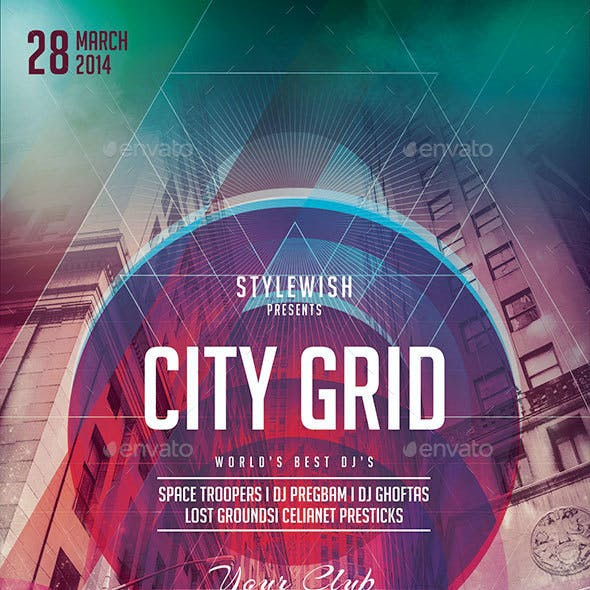 City Grid Flyer