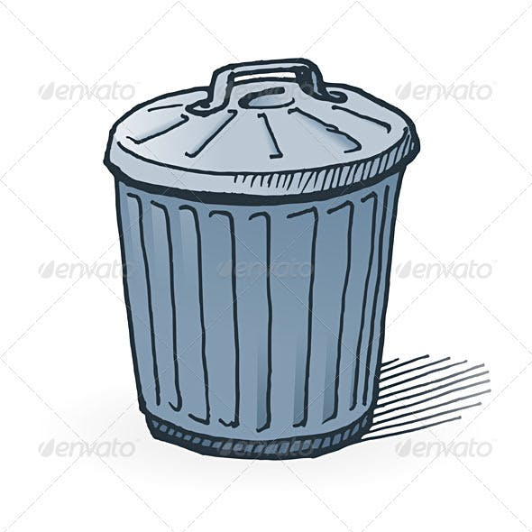 American Trash Can