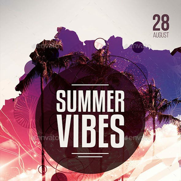 Summer Vibes Flyer
