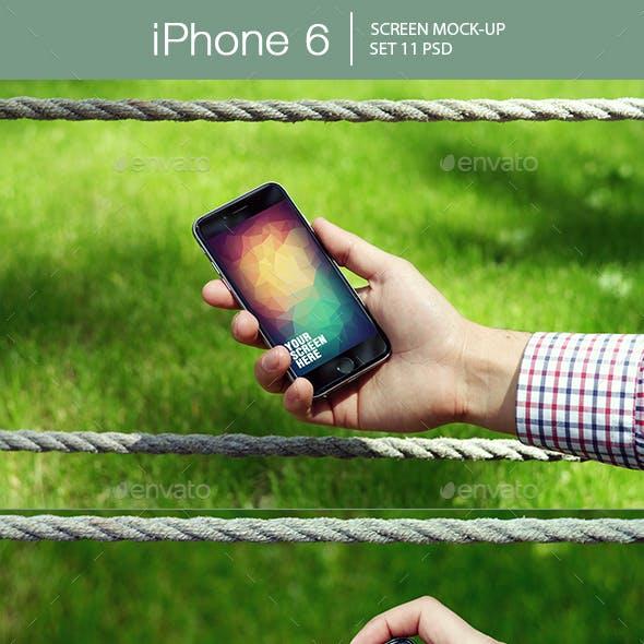 iPhone 6 Screen Mockup