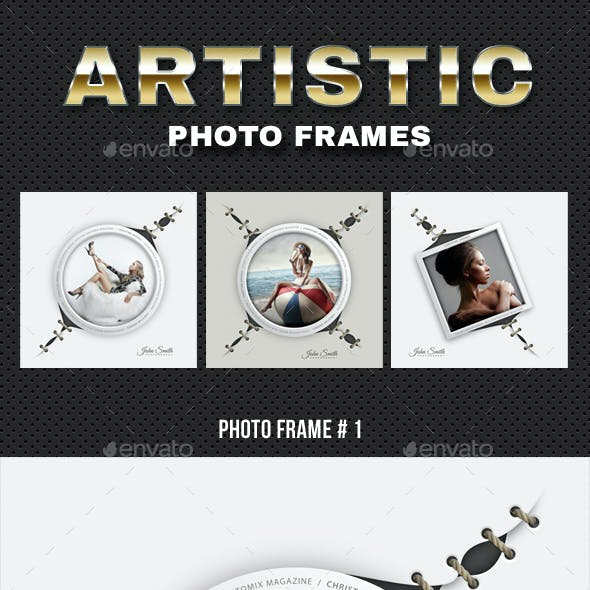 Artistic Photo Frame 04
