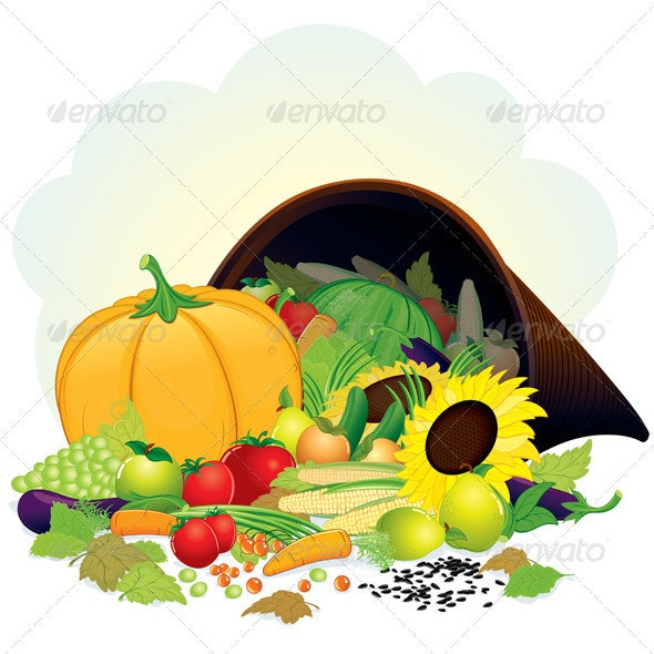 Autumn Harvest - Characters Vectors