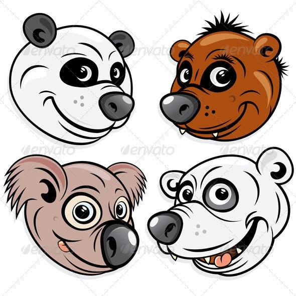Bears - Characters Vectors