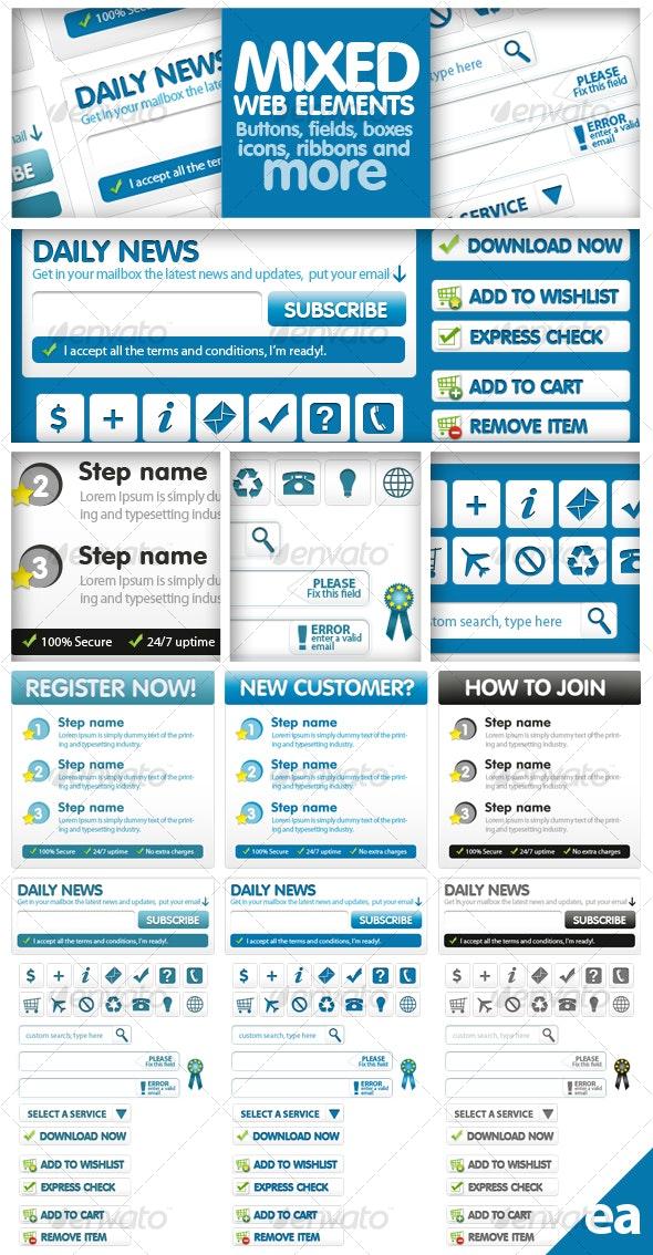 Mixed Web Elements - Web Elements