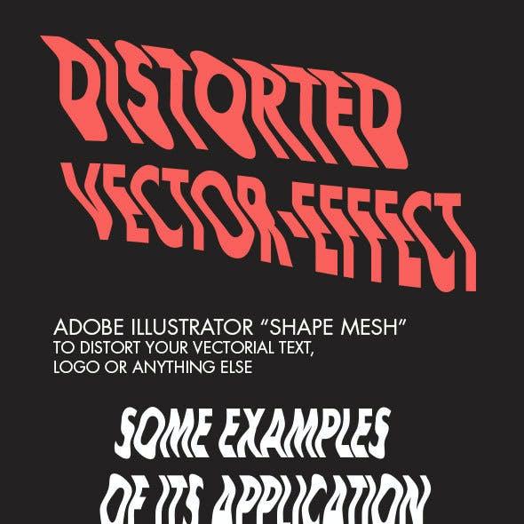 Distorted Vector-Effect