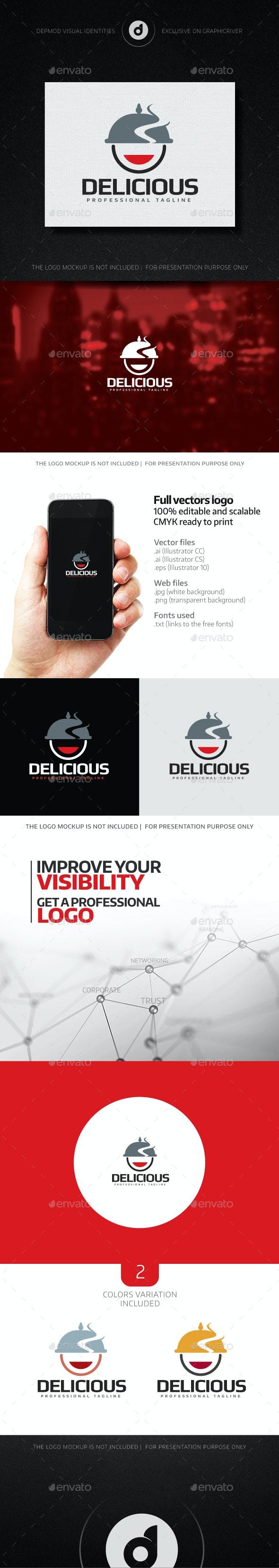 Delicious Logo - Food Logo Templates
