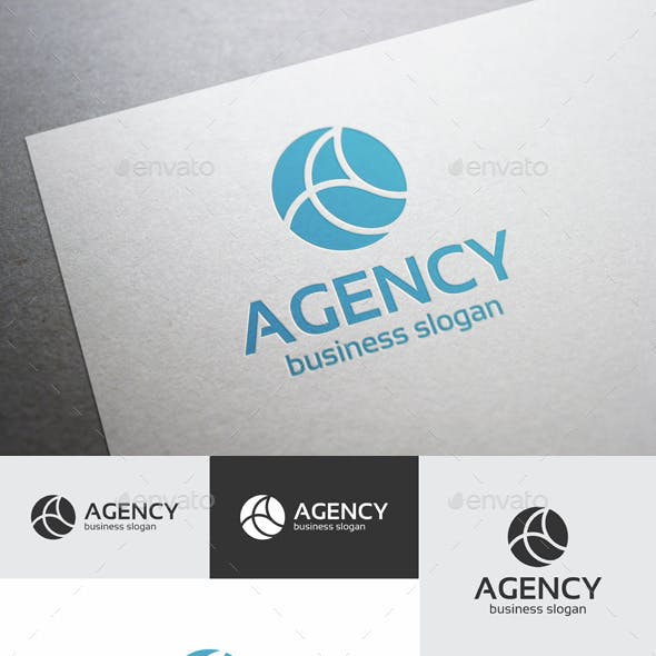 Agency Logo - Abstract Letter A