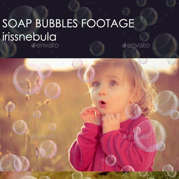 Soap Bubbles Footage
