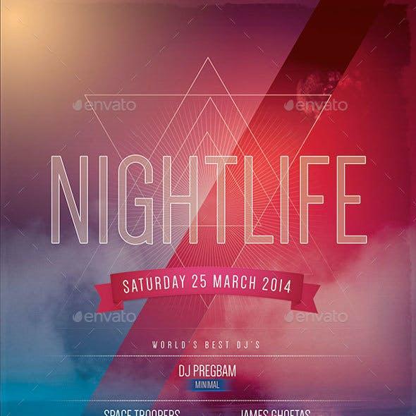 Nightlife Flyer