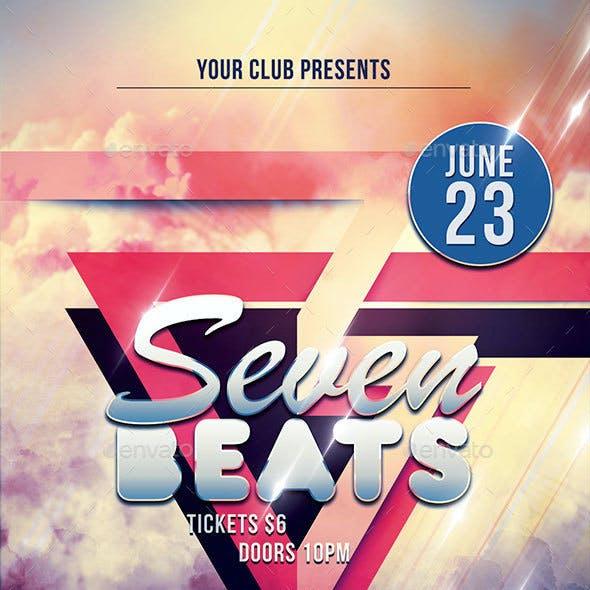 Seven Beats Flyer