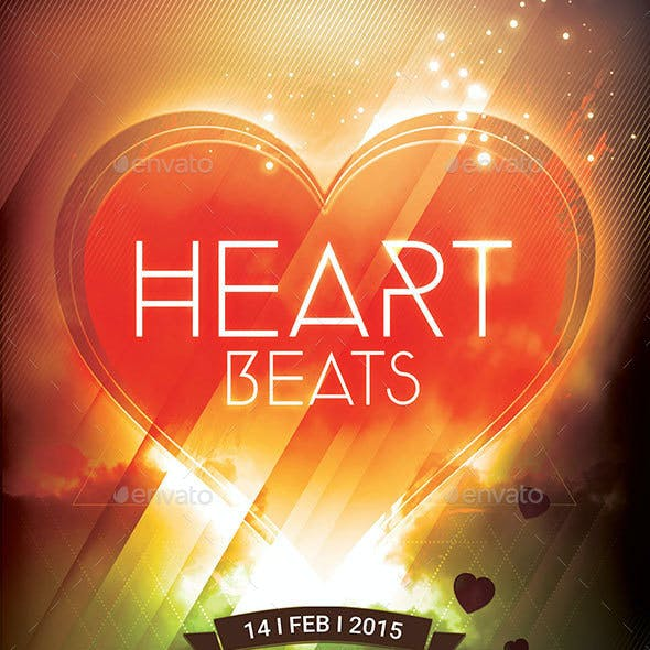 Heart Beats Flyer