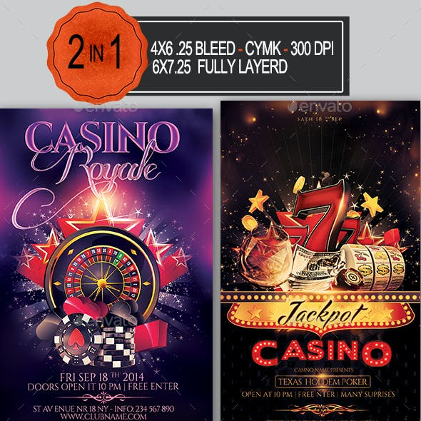 Casino Flyer Bundle