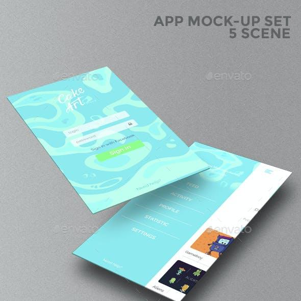App Mock-Up Set
