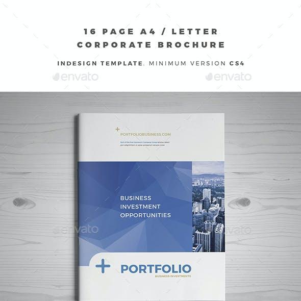 A4 / Letter Corporate Brochure