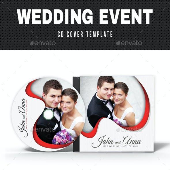 Wedding Event CD Cover v14