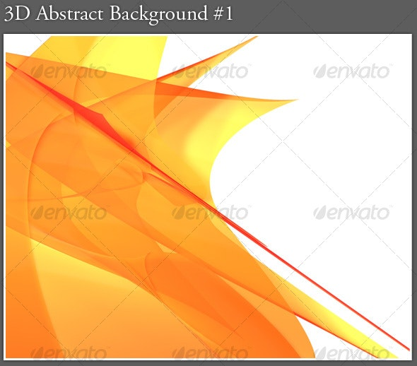 3D Abstract Background #1 - Abstract Backgrounds