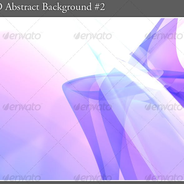 3D Abstract Background #2