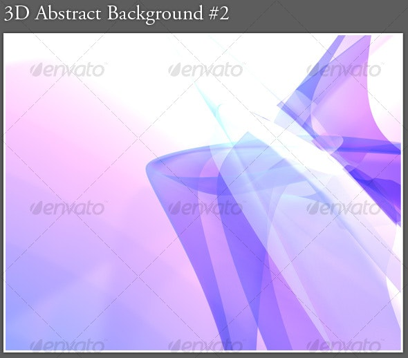 3D Abstract Background #2 - Abstract Backgrounds