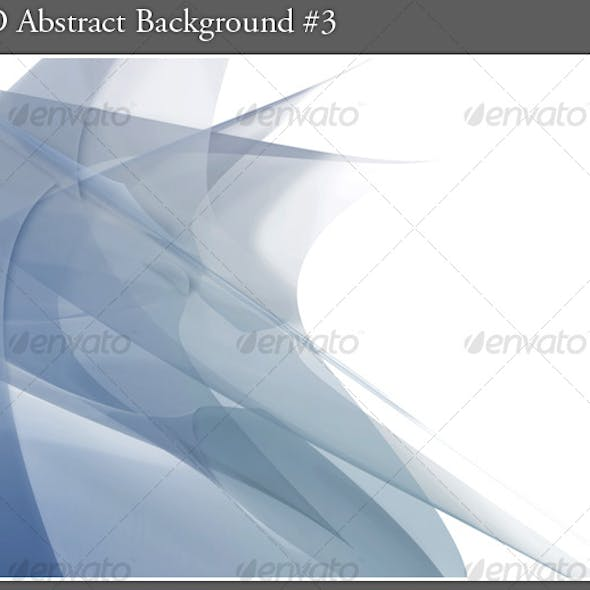 3D Abstract Background #3