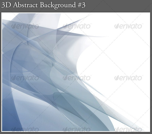 3D Abstract Background #3 - Abstract Backgrounds