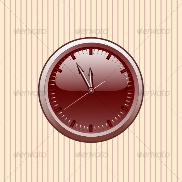 Office Clock.vector - Decorative Vectors