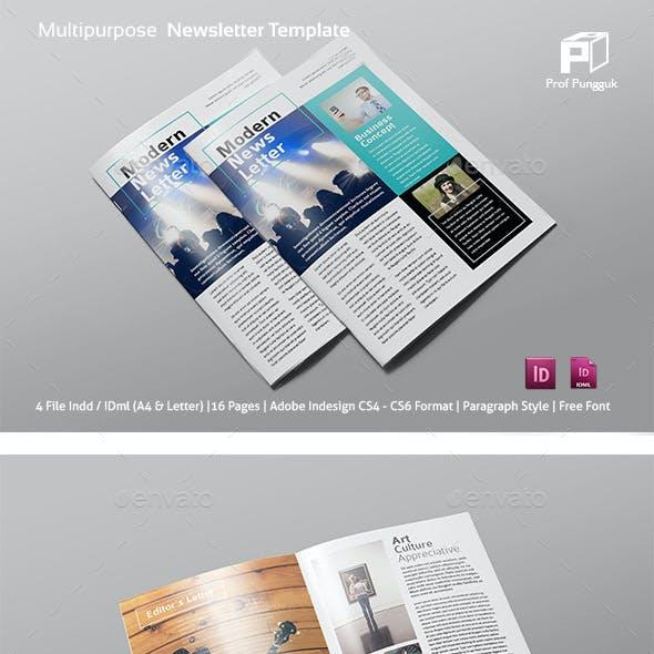 Multipurpose Newsletter Vol.3