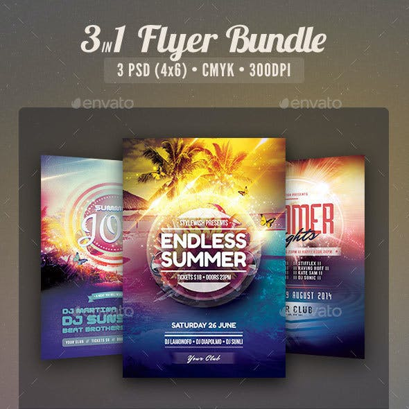 Summer Flyer Bundle Vol.06