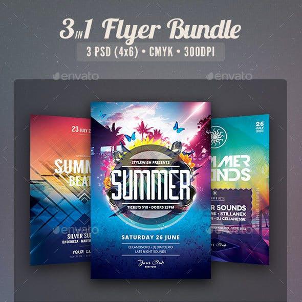 Summer Flyer Bundle Vol.04