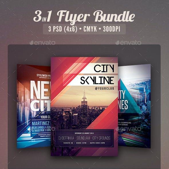 City Party Flyer Bundle Vol.5