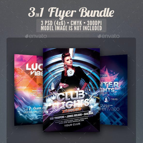 Party Flyer Bundle Vol11