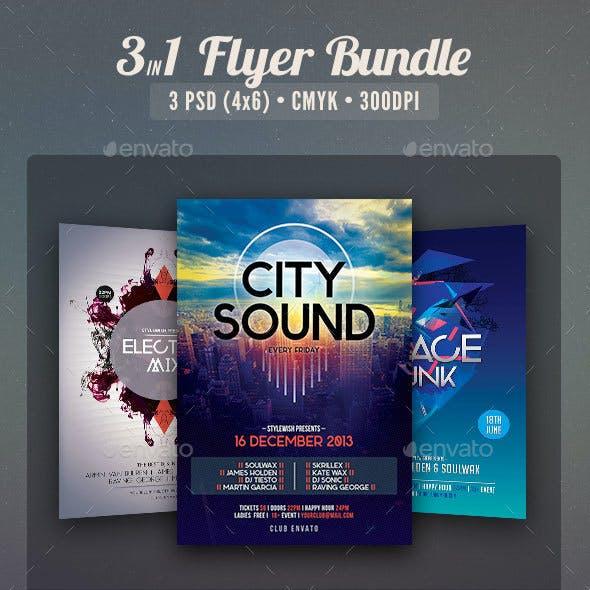 Party Flyer Bundle Vol5