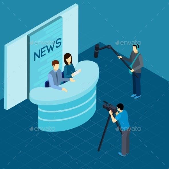 Professional Journalists at Studio Isometric