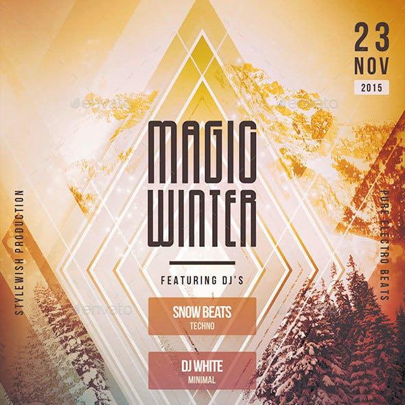 Magic Winter Flyer