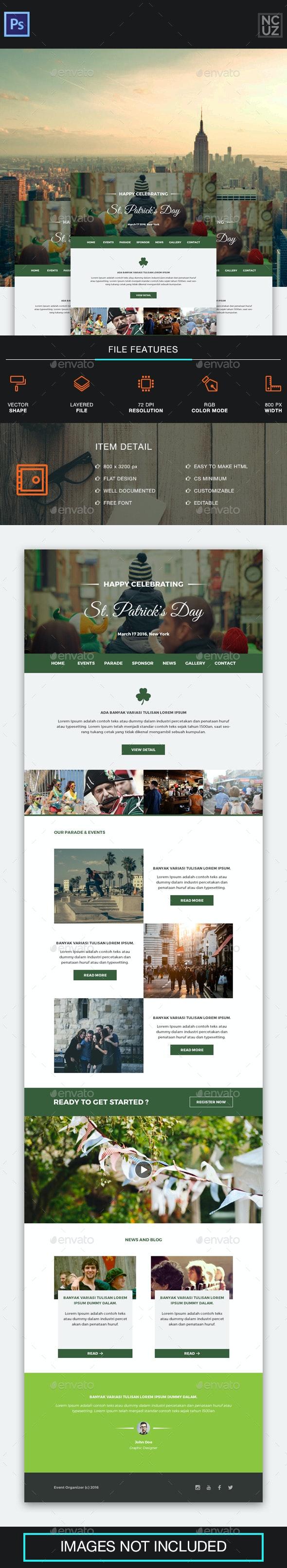 St. Patrick's Day Festival E-newsletter