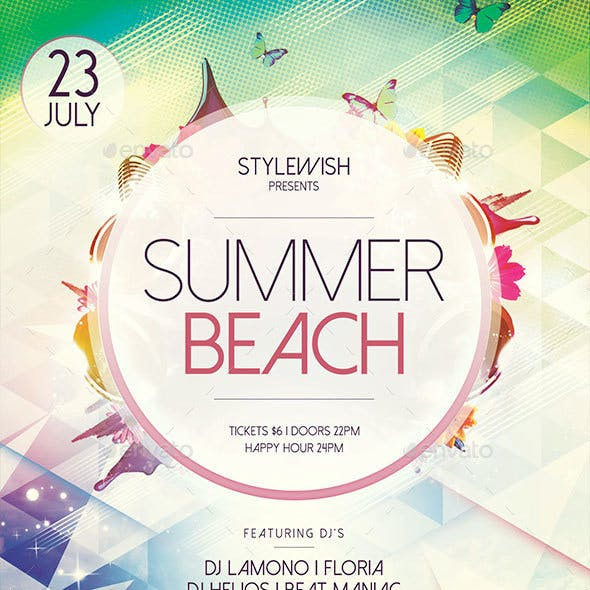 Summer Beach Flyer