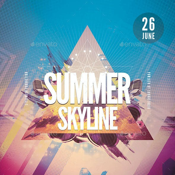Summer Skyline Flyer