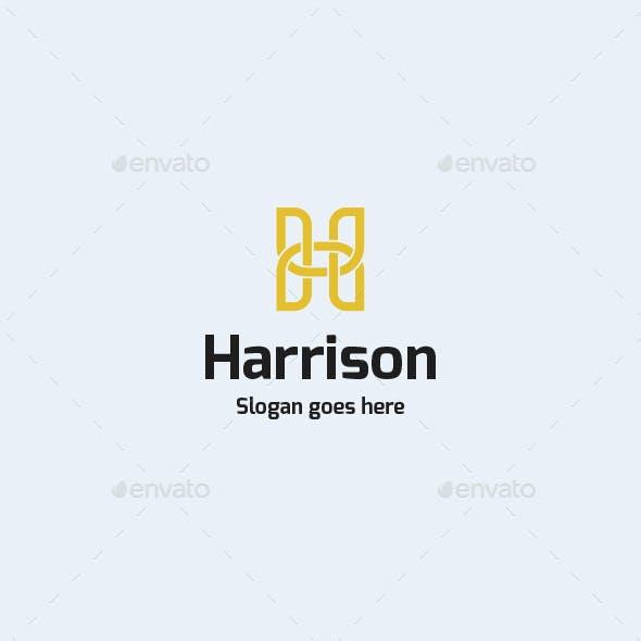 Harrison • Letter H Logo Template