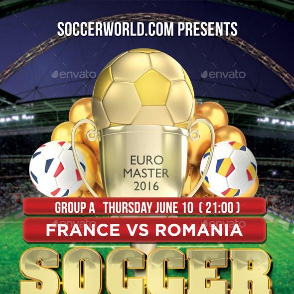 Soccer Gold Flyer