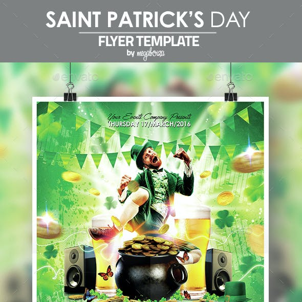 Saint Patrick's Day Flyer / Poster Template