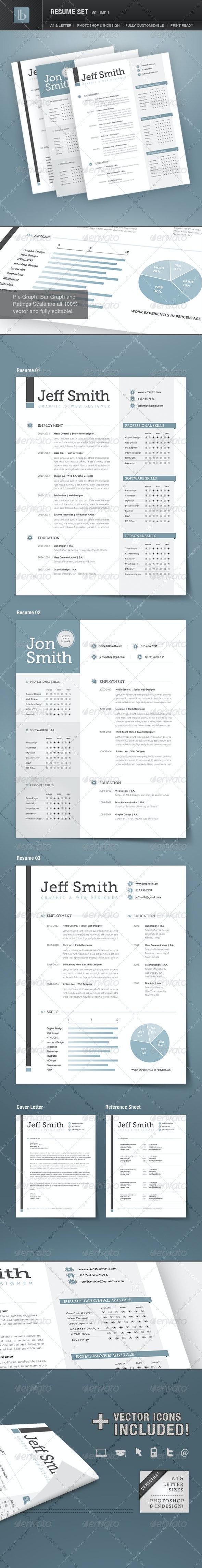 Resume Set | Volume 1 - Resumes Stationery