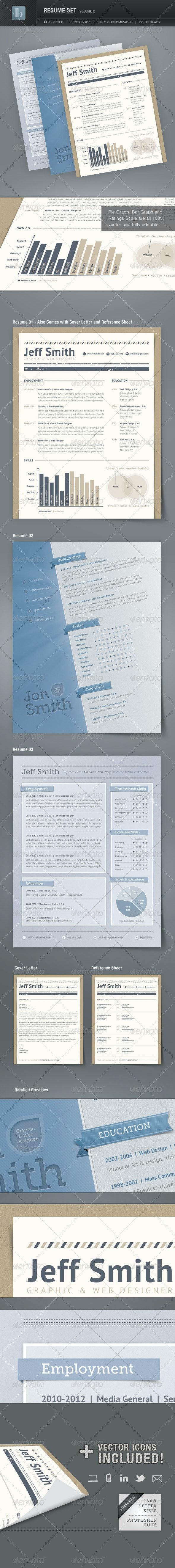 Resume Set   Volume 2 - Resumes Stationery