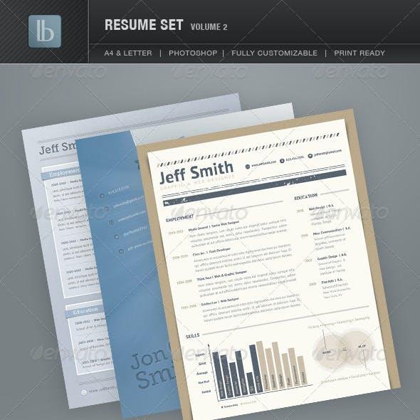 Resume Set | Volume 2