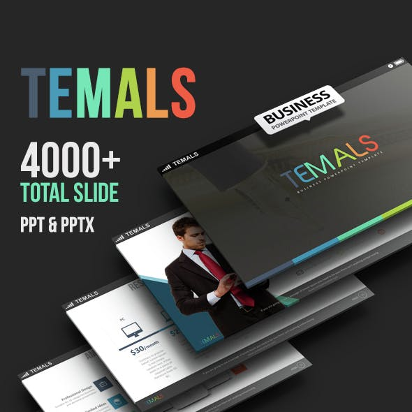 Temals - Business Powerpoint Template